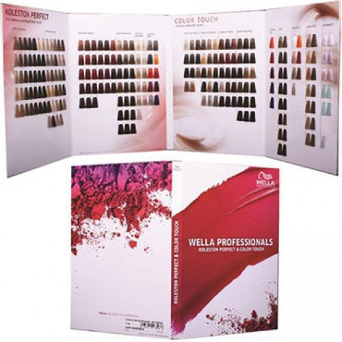 wella koleston color chart
